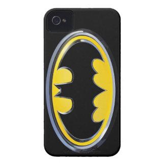 Logotipo clásico del símbolo el | de Batman Carcasa Para iPhone 4
