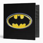 """Logotipo clásico del símbolo el   de Batman Carpeta 1 1/2"""""""