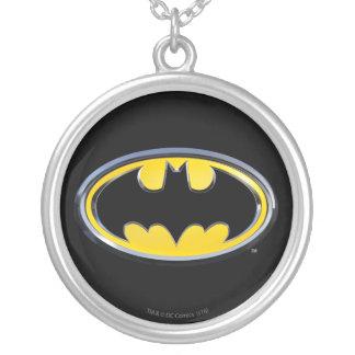 Logotipo clásico del símbolo el   de Batman Colgante Redondo