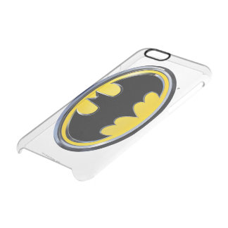 Logotipo clásico del símbolo el | de Batman Funda Clear Para iPhone 6/6S