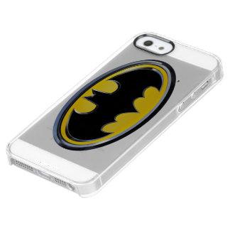 Logotipo clásico del símbolo el | de Batman Funda Clear Para iPhone SE/5/5s