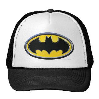 Logotipo clásico del símbolo el | de Batman Gorra