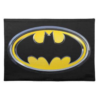 Logotipo clásico del símbolo el | de Batman Manteles