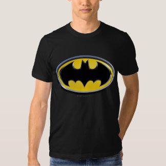 Logotipo clásico del símbolo el | de Batman Playeras