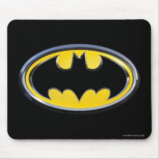 Logotipo clásico del símbolo el | de Batman Tapete De Ratones