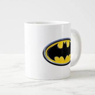 Logotipo clásico del símbolo el | de Batman Taza Grande
