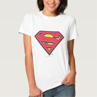 Logotipo clásico del superhombre remera