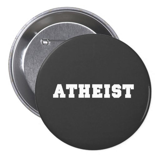Logotipo colegial ateo pin redondo 7 cm