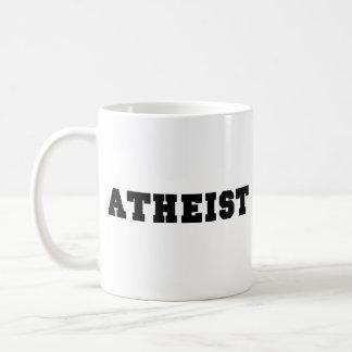 Logotipo colegial ateo taza clásica