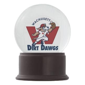 Logotipo colegial del equipo de béisbol de Dawgs