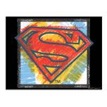 Logotipo coloreado el | del S-Escudo del Tarjeta Postal