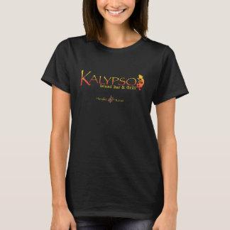 Logotipo colorido de Kalypso con la tortuga de mar Playera