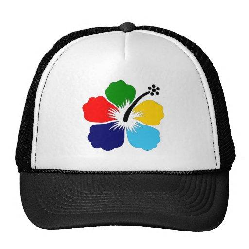 Logotipo colorido del vector de la flor de 1303272 gorro