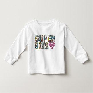Logotipo cómico de Supergirl Tee Shirt