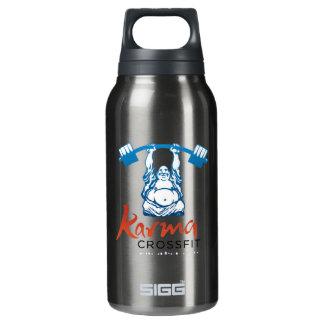 Logotipo completo botella isotérmica de agua