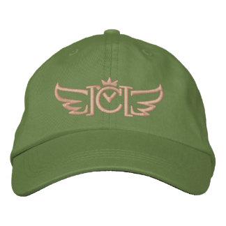 Logotipo con alas cm (coral) gorros bordados