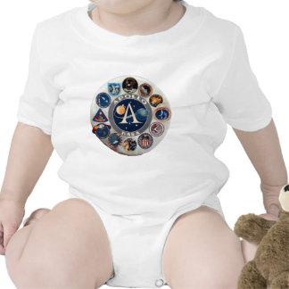 Logotipo conmemorativo del programa Apollo Traje De Bebé