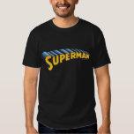Logotipo conocido clásico del superhombre el | camisas