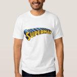 Logotipo conocido clásico del superhombre el | remeras