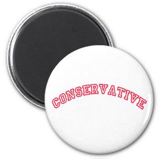 Logotipo conservador iman para frigorífico
