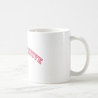 Logotipo conservador taza