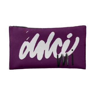logotipo cosmético hermoso de la tienda del bolso