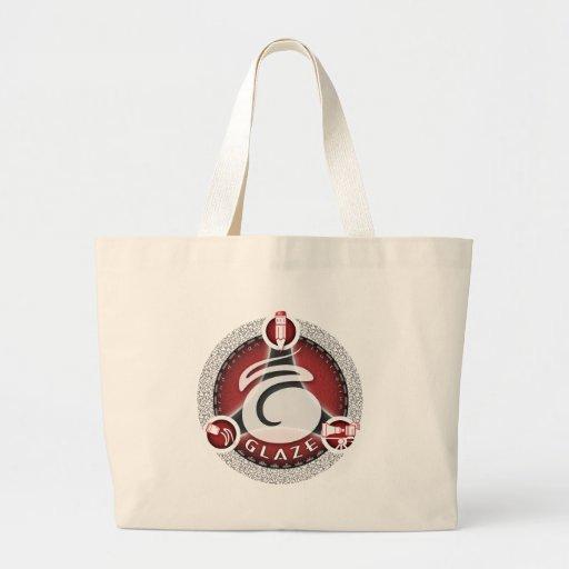 Logotipo creativo del héroe del esmalte bolsas