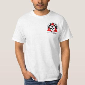 Logotipo creciente del bolsillo de Eskrima de la Camisas