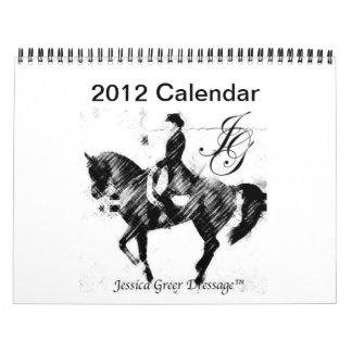 Logotipo de 2012 JGD calendario de 12 meses (grand