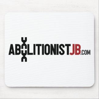 Logotipo de AbolitionistJB Alfombrillas De Ratones