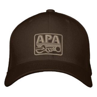 Logotipo de APA - gris Gorras Bordadas