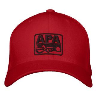 Logotipo de APA - negro Gorras Bordadas