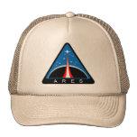 Logotipo de Ares del proyecto de la NASA Gorros