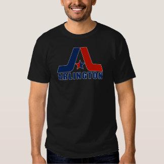 Logotipo de Arlington del vintage Poleras