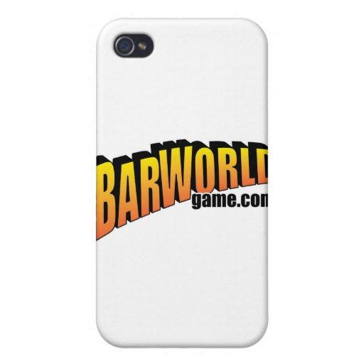 Logotipo de Barworld iPhone 4/4S Carcasa