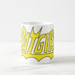 Logotipo de Batgirl Taza