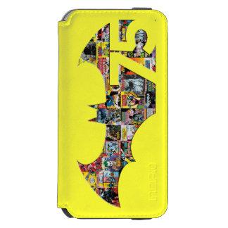 Logotipo de Batman 75 - cubiertas cómicas Funda Billetera Para iPhone 6 Watson