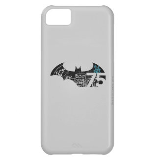 Logotipo de Batman 75 - pizarra Funda Para iPhone 5C