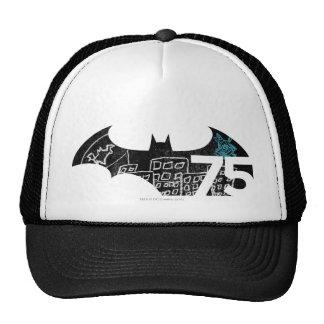 Logotipo de Batman 75 - pizarra Gorro De Camionero