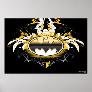 Logotipo de Batman con los coches Impresiones