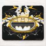 Logotipo de Batman con los coches Alfombrilla De Ratones