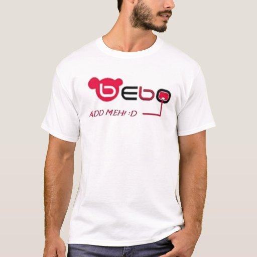 Logotipo de Bebo {AMAW} Playera