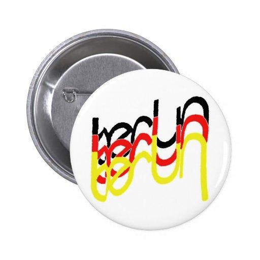 Logotipo de Berlín, Alemania con las letras entrel Pins