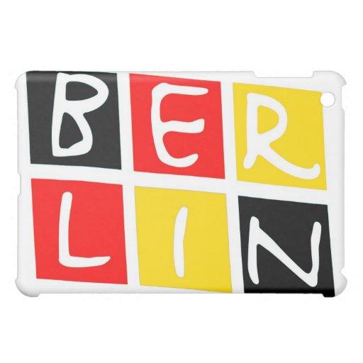 Logotipo de Berlín, Alemania en cuadrados