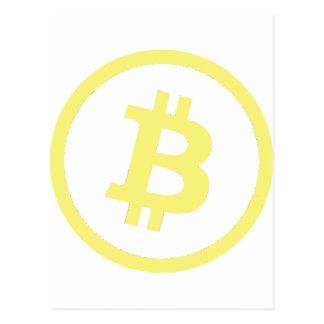 Logotipo de Bitcoin Postal