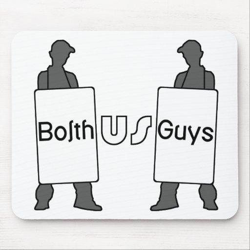 Logotipo de BolthUsGuys Tapetes De Ratones