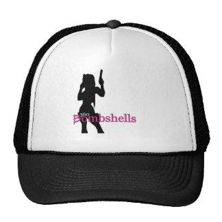 Logotipo de Bombgirl de 360 bombas Gorros