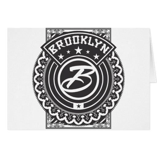 Logotipo de Brooklyn Tarjeta De Felicitación