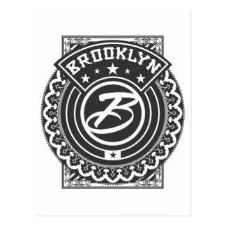 Logotipo de Brooklyn Tarjeta Postal