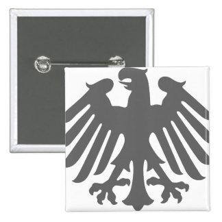 Logotipo de Bundesrat, bandera de Alemania Pin